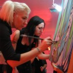 CD1 Gallery - With Justine Serebrin -  Live art Fallopian Artopians Troupe