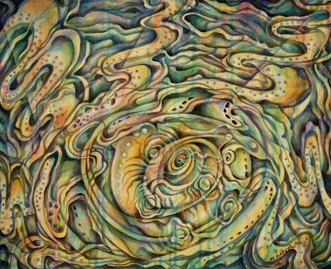 Naut-o-pus Painting full
