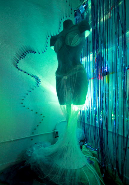 Mermaid Installation Margie Darrow